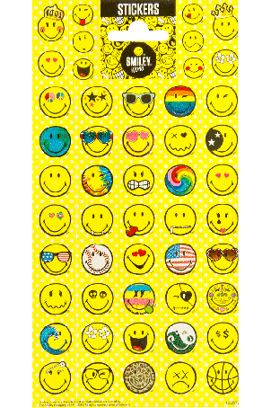 Twinkle sheet smiley world 1