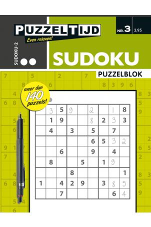Puzzelblok sudoku 2 punt nr. 3
