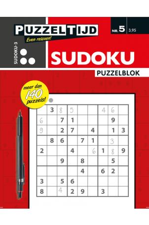 Puzzelblok sudoku 3 punt nr. 5