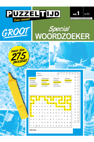 Puzzelboek special woordzoeker groot nr. 1
