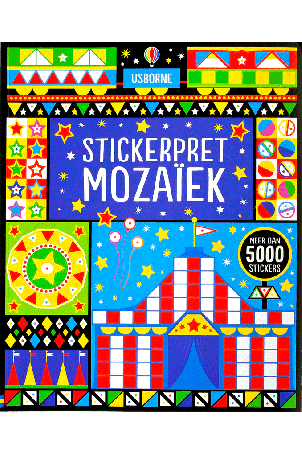 Mozaiek stickerpret