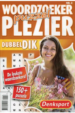 Dubbeldik woordzoeker puzzelplezier
