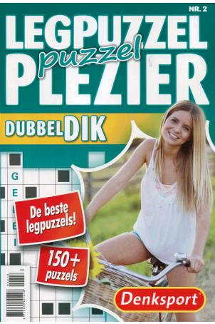 Dubbeldik legpuzzel puzzelplezier