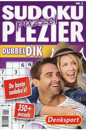 Dubbeldik sudoku puzzelplezier