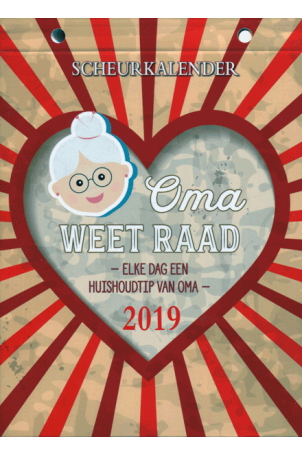 Scheurkalender 2019: Oma weet raad