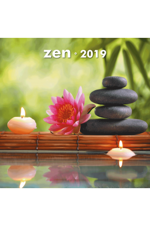 Kalender 30x30 2019 Zen