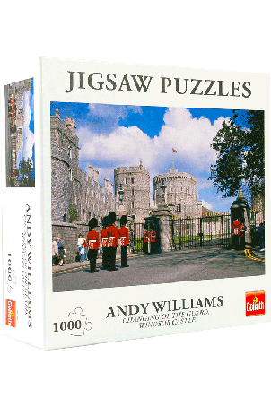 Puzzel Changing of the guard Windsor Castle (1000 stukjes)