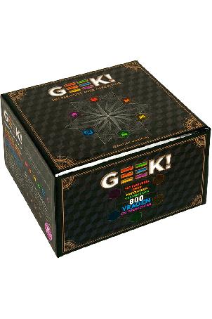 Geek! Partyspel het partyspel over popcultuur