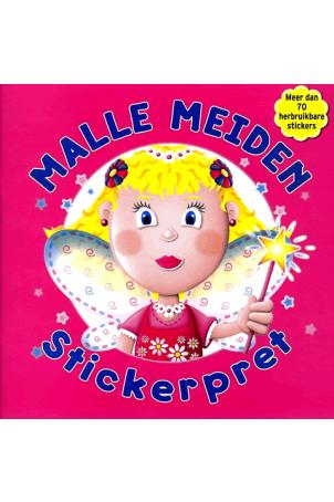 Malle Meiden Stickerpret