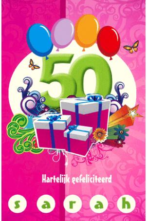 50 gefeliciteerd Boekenvoordeel, verrast je met boek, hobby en cadeau > Kaart 50  50 gefeliciteerd&#8221; title=&#8221;50 gefeliciteerd Boekenvoordeel, verrast je met boek, hobby en cadeau > Kaart 50  50 gefeliciteerd&#8221; width=&#8221;200&#8243; height=&#8221;200&#8243;> <img src=