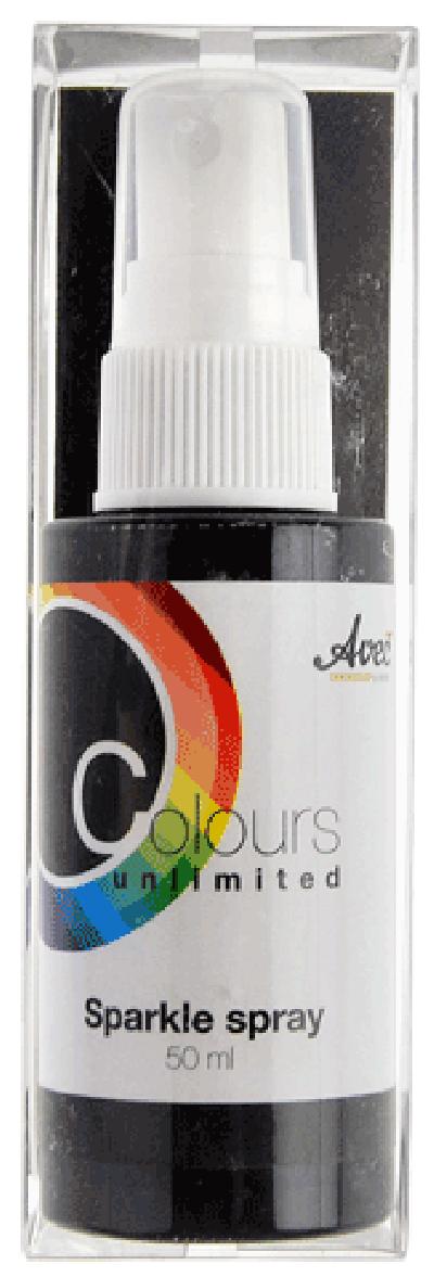 CU13 Sparkle Spray Zwart-Wit