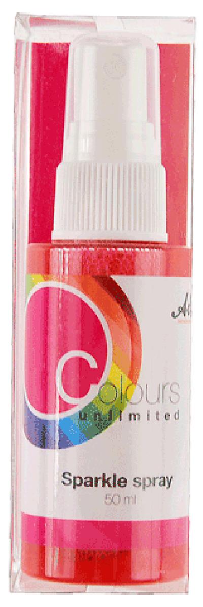 CU13 Sparkle Spray Roze