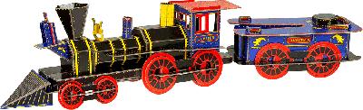 3D Science Locomotief