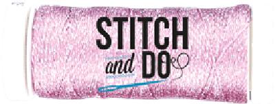 Stitch & Do borduurgaren sparkle pink