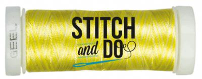 Stitch & Do borduurgaren geel gemêleerd