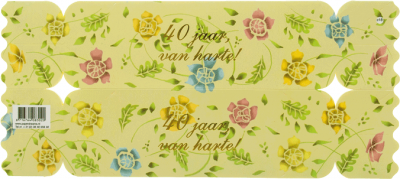Cadeauverpakking 40 jaar