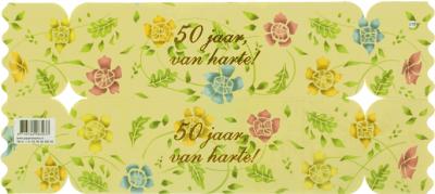 Cadeauverpakking 50 jaar