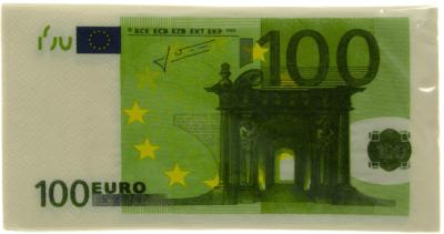 Servetten 100 euro