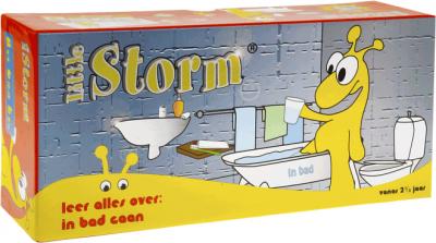 Little storm leer alles over in bad gaan