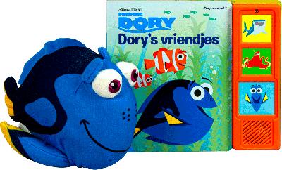 Disney Pixar Finding Dory geluidboek