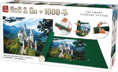 Puzzelmat Roll & Go met legpuzzels Neu Schwanstein 1000 stukjes