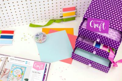 Crafter's Companion jaarbox kaarten artikelen