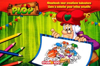 Kabouter Plop - Kleurboek voor creatieve kabouters