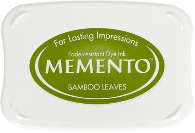 Memento ink pad Bamboo Leaves