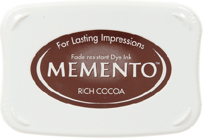 Memento ink pad Rich Cocoa