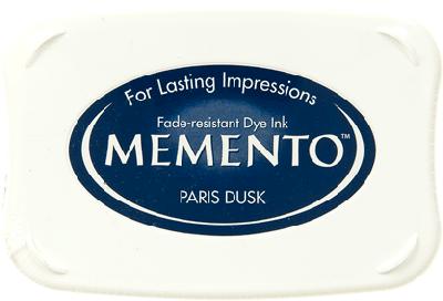 Memento ink pad Paris Dusk