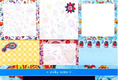 Sticky Notes 6 pack x pip