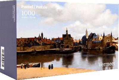 Legpuzzel Vermeer centrum Delft 1000 stukjes