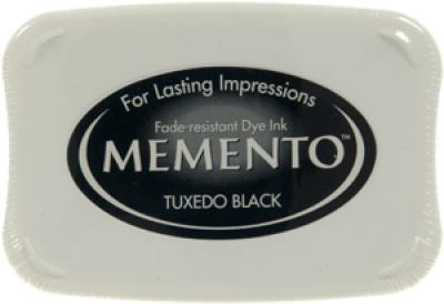 Memento ink pad tuxedo zwart