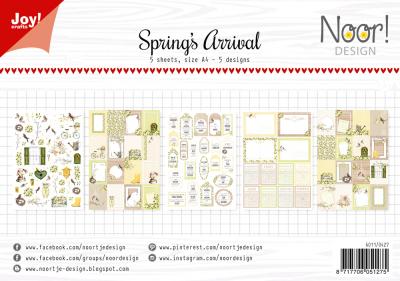 Joy Crafts labelvellen Noor Design Lente begint serie mei 20