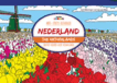Anti-stress kleurboek Nederland