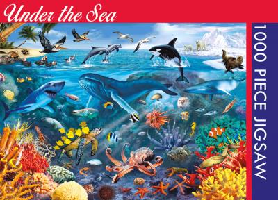 Legpuzzel Under the sea 1000 stukjes