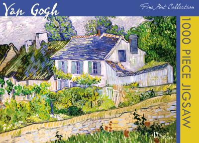 Legpuzzel Van Gogh Huis in Auvers 1000 stukjes
