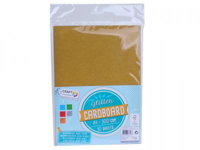Glitter cardboard a4
