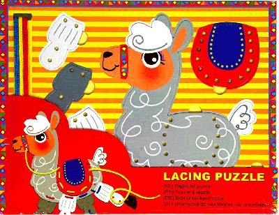 Rijgveter puzzel Alpaca