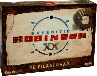 Expeditie Robinson De Eilandraad bordspel