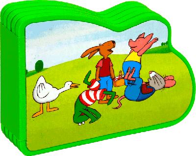 Foamboekje, kikker en zijn vriendjes