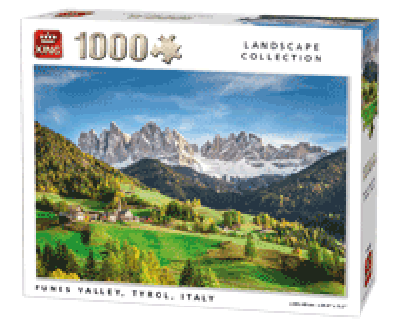 PUZZLE FUNES VALLEY 1000 PCS