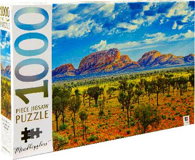 Legpuzzel Uluru-Kata Tjuta 1000 stukjes
