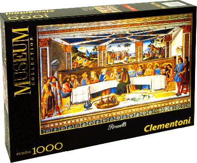 Legpuzzel 1000 stukjes Laatste Avondmaal (Clementoni)