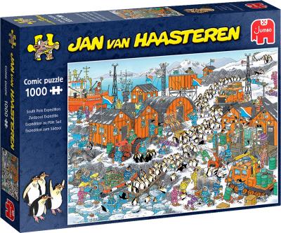 Legpuzzel Jan van Haasteren Zuidpool 1000 stukjes