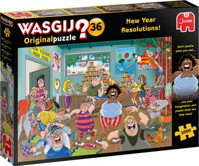 Legpuzzel Wasgij original 36 - goede voornemens! 1000 stukjes