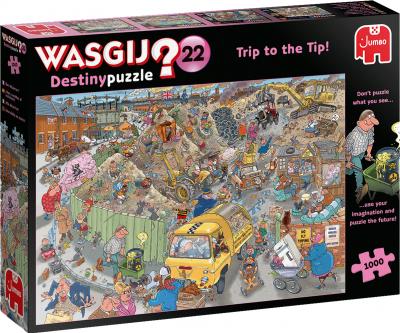 Legpuzzel Wasgij destiny 22 - alles op een hoop! 1000 stukjes