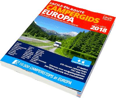 Facile-en-Route Campergids Europa 2018
