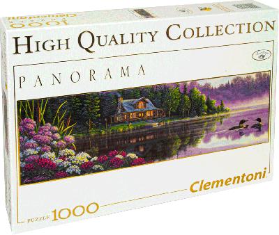 Legpuzzel 1000 stukjes Naast stilstaand water (Clementoni)