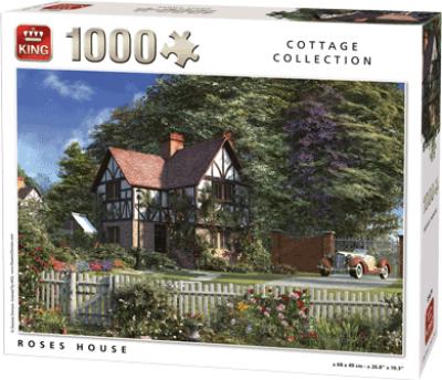 Legpuzzel Roses House 1000 stukjes